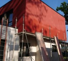 Enduit rouge carmine wb343