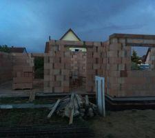 Elevation murs rdc