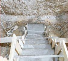 Escalier vu du haut