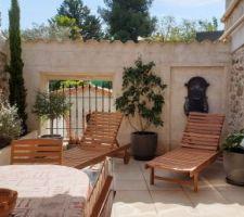 La terrasse d'été de pomasien + 9 autres photos