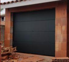 Porte de garage posé