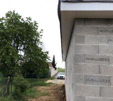 Débords de toit PVC finalisés