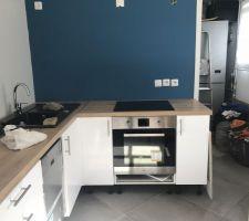 Installation de la cuisine