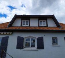 L.isolation extérieur concernera les deux fenêtres du haut