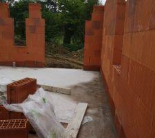 Elévation des murs Bio bric' Primo