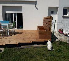 Terrasse terminée