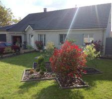 grey house dans la verdure ardennaise