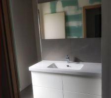Meuble de notre salle de bain