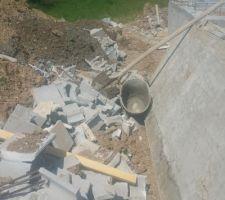 Notre chantier est une poubelle