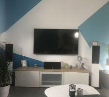 Coin TV avec Home Cinéma de monsieur