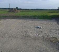 Chemin accès chantier