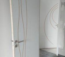 Différents modèles de portes gravées à peindre