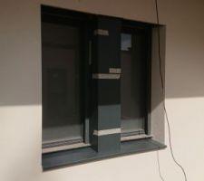 Meneau et appuis de fenêtres alu