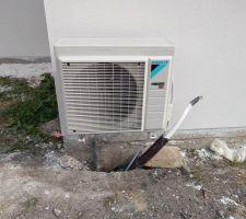 Module extérieur pompe a chaleur