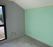 Peinture chambre 1