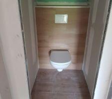 Pose wc terminé