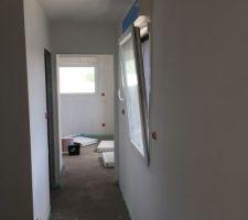 Peinture couloir R+1