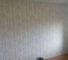 Papier peint chambre d'amis