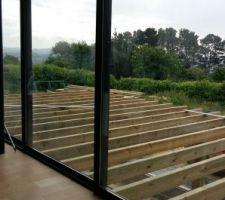 Terrasse en construction
