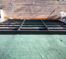 Terrasse en place