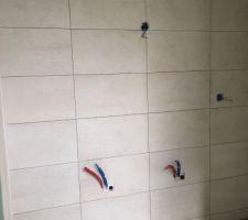 Faiences des salles d'eau
