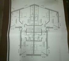 Plan étage avant modif