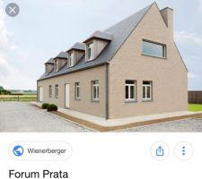 Couleur de la future façade