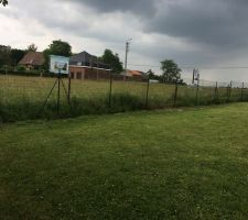 50 premiers mètres linéaires de clôture
