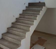Escalier en cours...