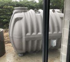 Cuve récupération d'eau