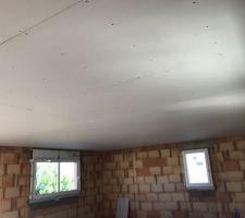 Placo plafond du haut