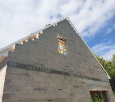Notre petite maison avec son toit  Pignon droit