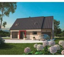 Modèle de maison de la gamme Maison Balency retenu