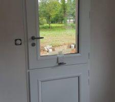 Porte de ferme cuisine /terrasse