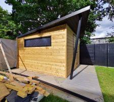 Fabrication Homemade de notre abris de jardin :)