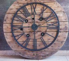 Horloge touret 90cm