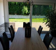 Salle à manger avec terrasse Sud