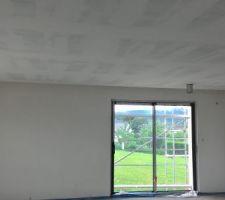 Les bandes des plafonds du rdc