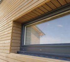 Ebrasements fenêtres + porte de service