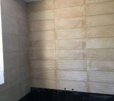 Faience salle de bain - la faience à vague