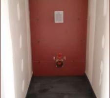 WC étage terminé