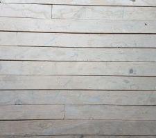 Petite maison: trous de vrillettes dans le parquet
