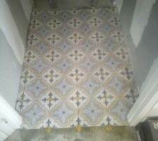 Carrelage wc étage