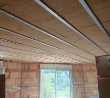 Isolation sous le toit fibre de bois semi-rigide 14 cm