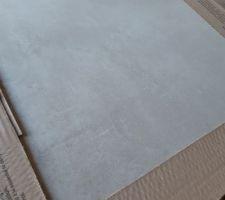 Carrelage concrete taupe