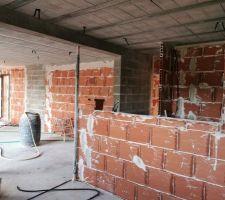 Cloison brique