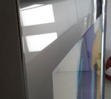 Entrée avec toit cathédrale - cadeau de crémaillère à suspendre derrière le luminaire