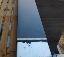 Installation définitive des couvertines