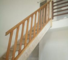 Escalier enfin posé