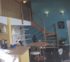 Choisi au showroom Rambarde de l?escalier